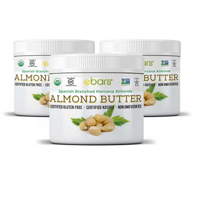 Almond Butter - 3 Jars 3 Jars