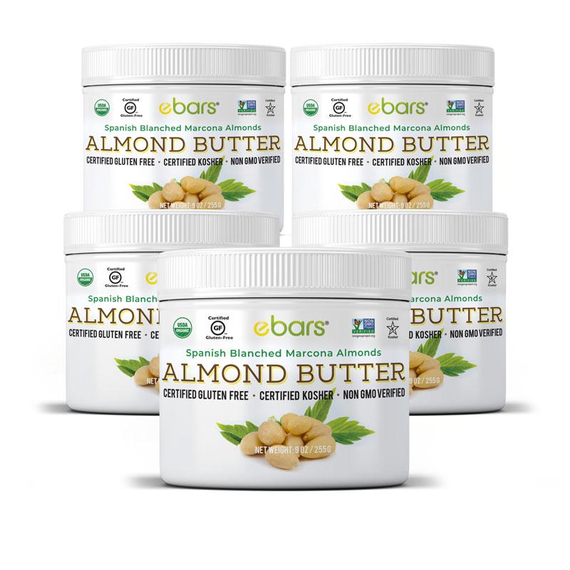 Almond Butter - 5 Jars