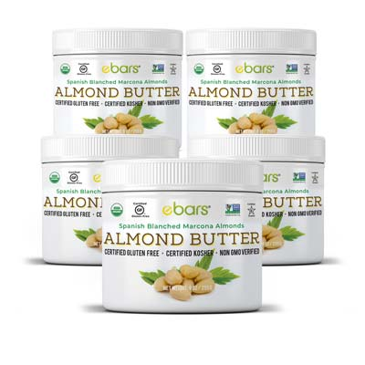 Almond Butter - 5 Jars 5 Jars