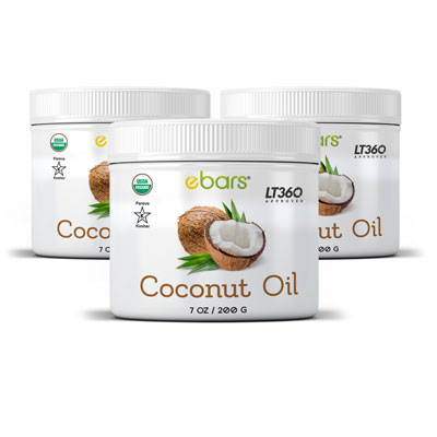 Coconut Oil - 3 Jars 3 Jars