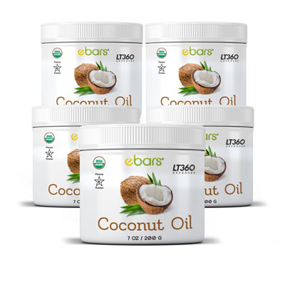 Coconut Oil - 5 Pack 5 Jars