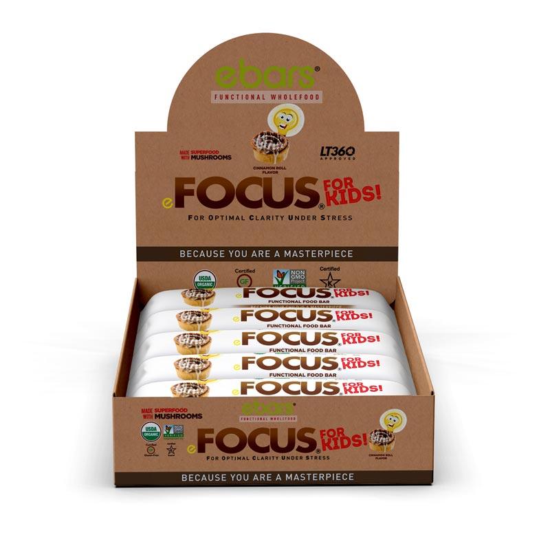 Focus 4 Kids! Cinnamon Roll - 15 Pack