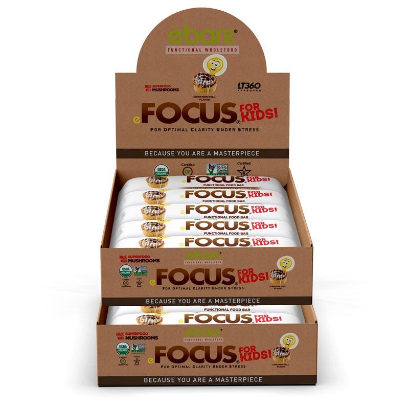 Focus 4 Kids! Cinnamon Roll - 30 Pack