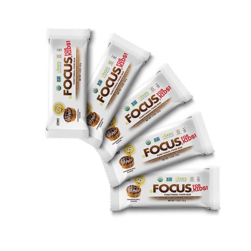 Focus 4 Kids! Cinnamon Roll - 5 Pack