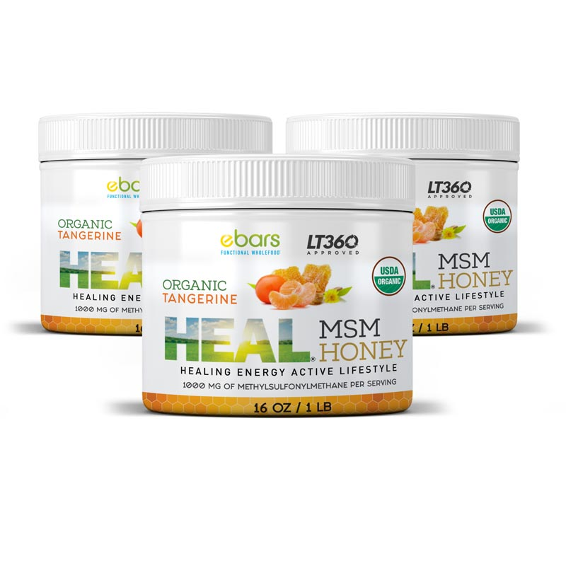 Heal MSM Honey - 3 Pack