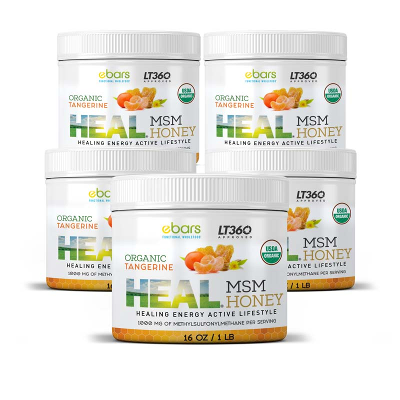 Heal MSM Honey - 5 Pack