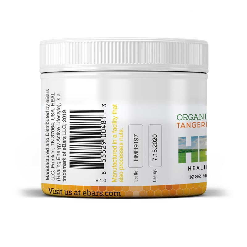Heal MSM Honey - 16 oz