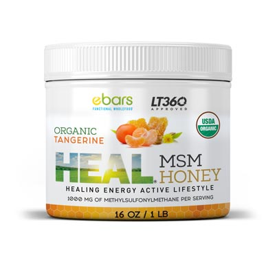 Heal MSM Honey