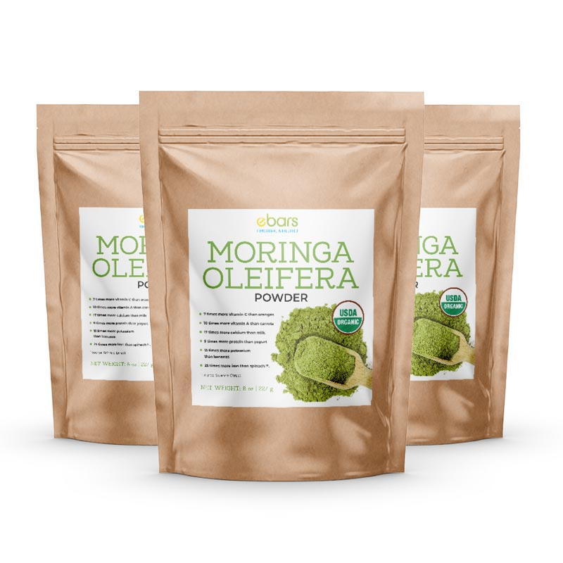 Moringa Oleifera - 3 Pack